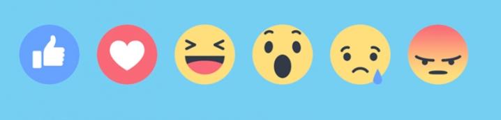 Liste des emojis de réaction sur Facebook
