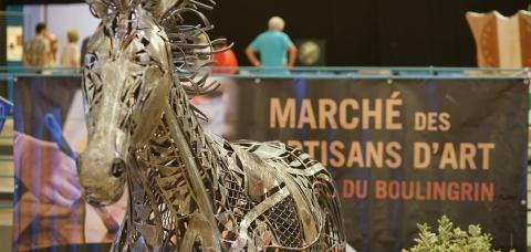 Marché des artisans d'art à Reims