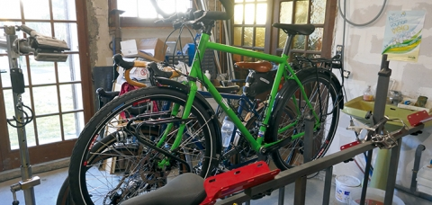 Monsieur Coponet/artisan répar acteur/référencé sur la plateforme coup de pouce vélo réparation.