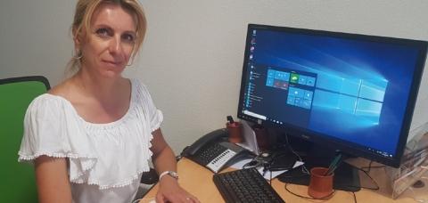 Stéphanie Guillemin, développeur apprentissage au CFA Pôle des Métiers.